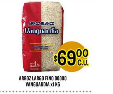 Supermercados Toledo Arroz Largo Fino 00000 Vanguardia
