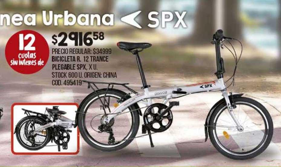 Coto Bicicleta R. 12 Trance Plegable Spx