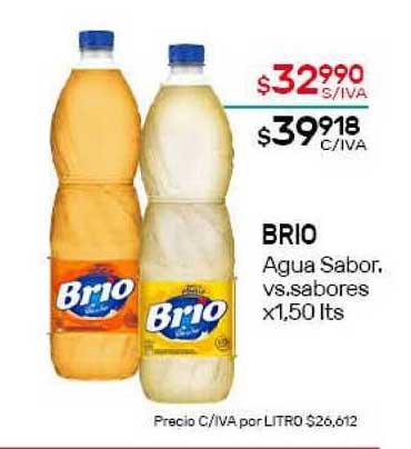Nini Mayorista Brio Agua Sabor Vs.sabores