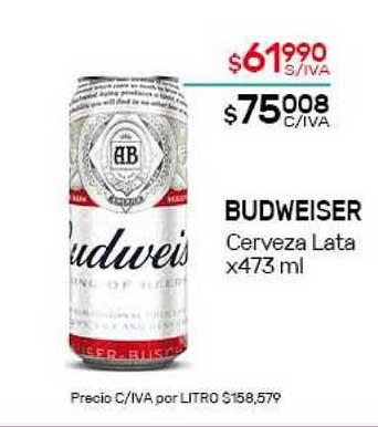 Nini Mayorista Budweiser Cerveza