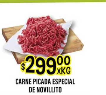 Supermercados Toledo Carne Picada Especial De Novillito
