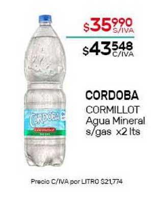 Nini Mayorista Cordoba Cormillot Agua Mineral S Gas
