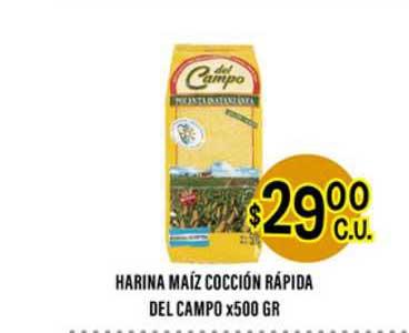 Supermercados Toledo Harina Maíz Cocción Rápida Del Campo