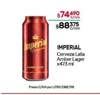 Nini Mayorista Imperial Cerveza Amber Lager