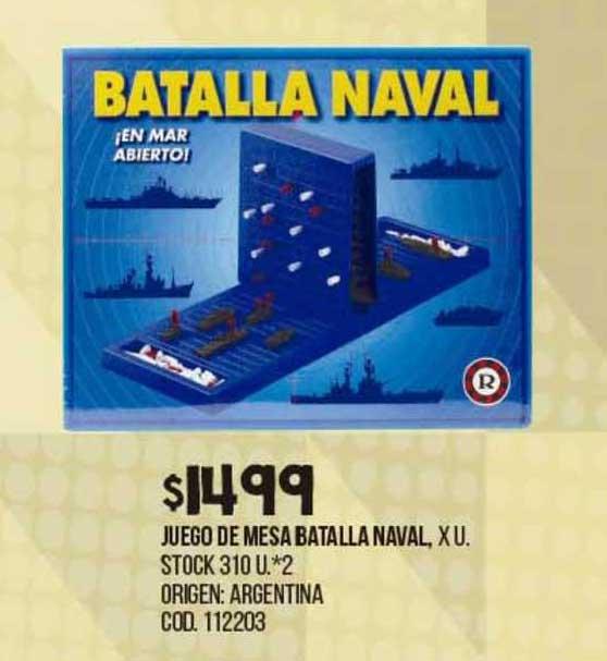 Coto Juego De Mesa Batalla Naval