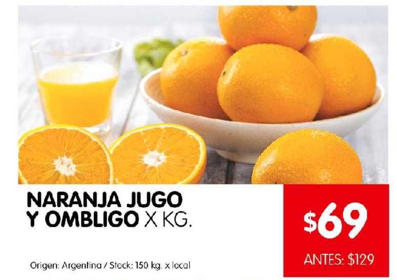 Disco Naranja Jugo Y Ombligo