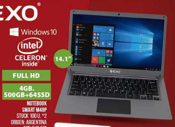 Coto Notebook Smart M48p Exo