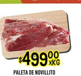 Supermercados Toledo Paleta De Novillito