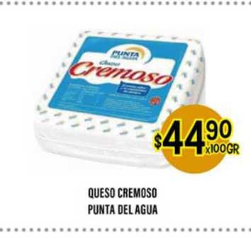Supermercados Toledo Queso Cremoso Punta Del Agua