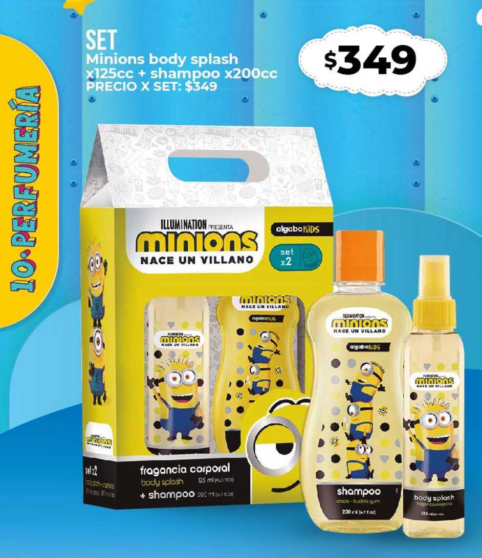 Supermayorista Vital Set Minions Body Splash + Shampoo