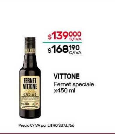 Nini Mayorista Vittone Fernet Speciale