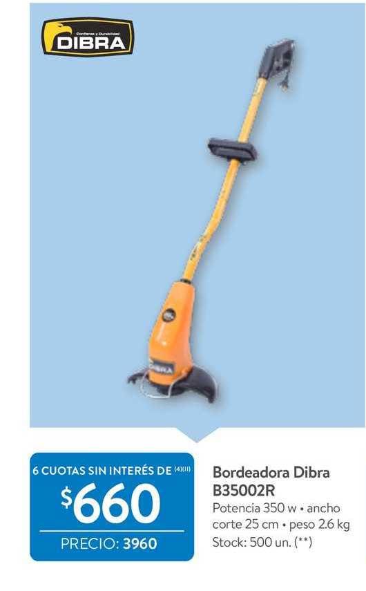 Walmart Bordeadora Dibra B35002R