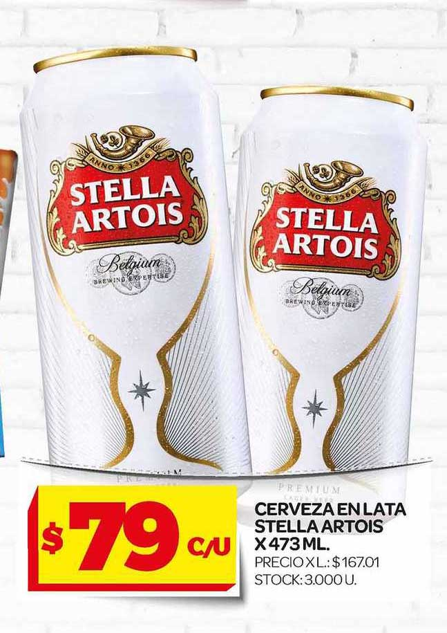Supermercados DIA Cerveza En Lata Stella Artois X 473 ML