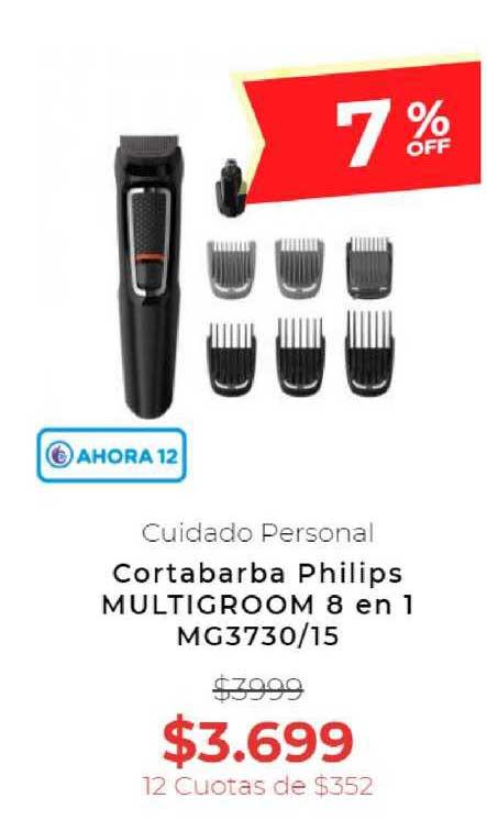 Otero Cortabarba Philips Multigroom 8 En 1 MG3730-15