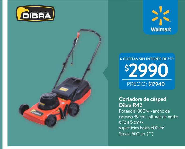 Walmart Cortadora De Césped Dibra R42
