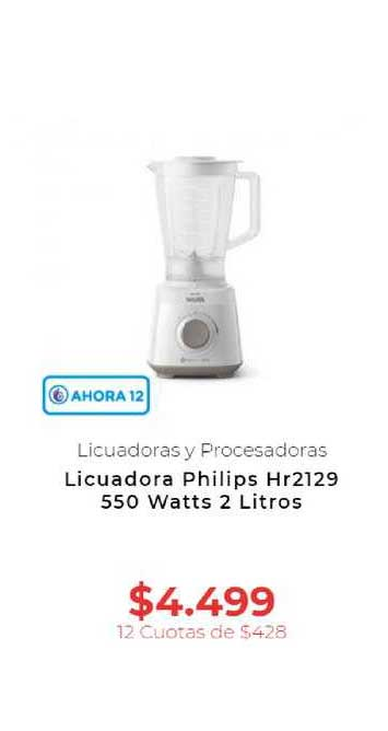 Otero Licuadora Philips Hr2129 550 Watts 2 Litros