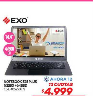 Naldo Lombardi Notebook E25 Plus N3350 + 64SSD
