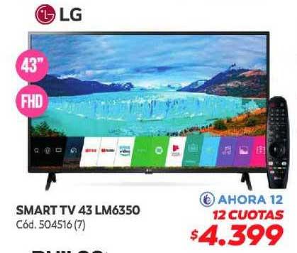 Naldo Lombardi Smart TV 43 LM6350
