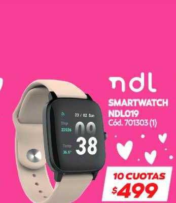 Naldo Lombardi Smartwatch NDL019