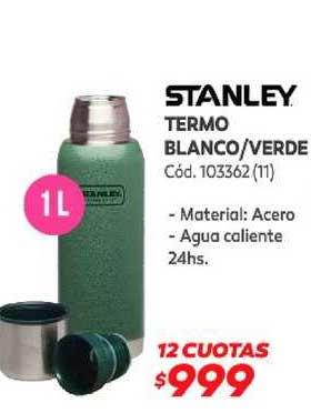 Naldo Lombardi Stanley Termo Blanco-Verde