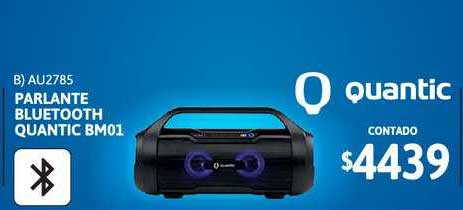 Cetrogar Parlante Bluetooth Quantic Bm01