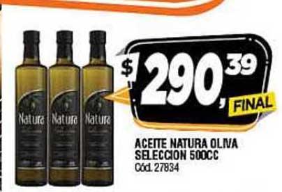 Supermercados Yaguar Aceite Natura Oliva Seleccion