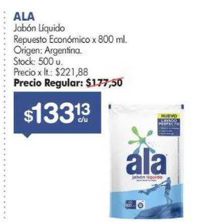 Simplicity Ala Jabón Liquido Repuesto Económico Origen: Argentina