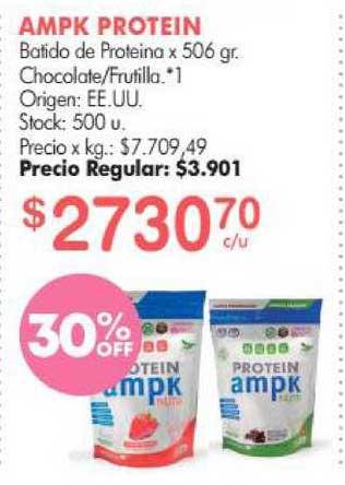 Simplicity Ampk Protein Batido De Proteina