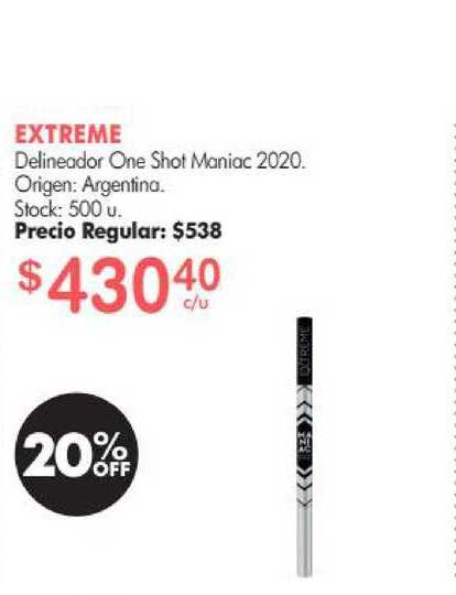 Simplicity Extreme Delineador One Shot Maniac 2020