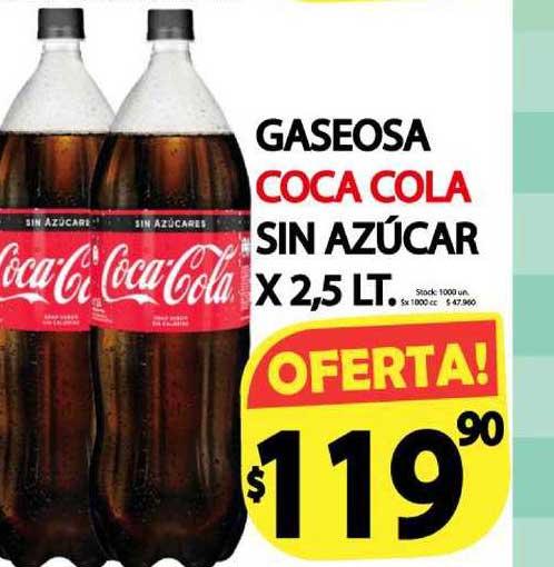 Supermercados Mariano Max Gaseosa Coca Cola Sin Azúcar