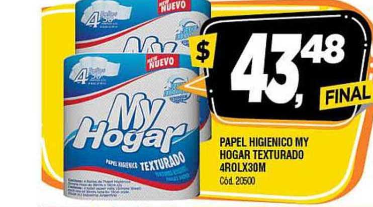 Supermercados Yaguar Papel Higienico My Hogar Texturado