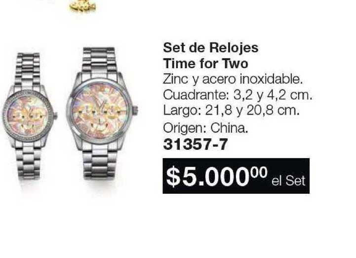 Avon Set De Relojes Time For Two