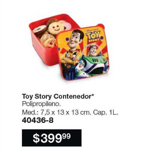 Avon Toy Story Contenedor
