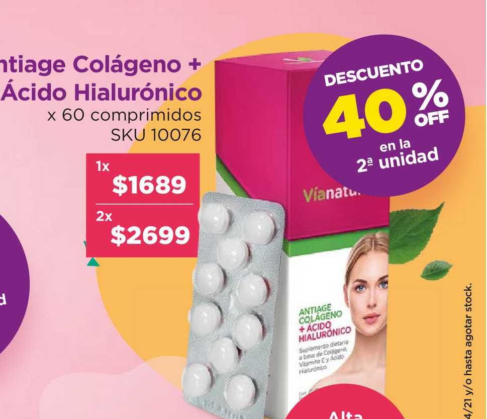 Grandiet Antiage Colágeno + ácido Hialurónico