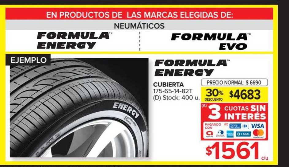 Carrefour Formula Energy Cubierta 175-65-14-82T