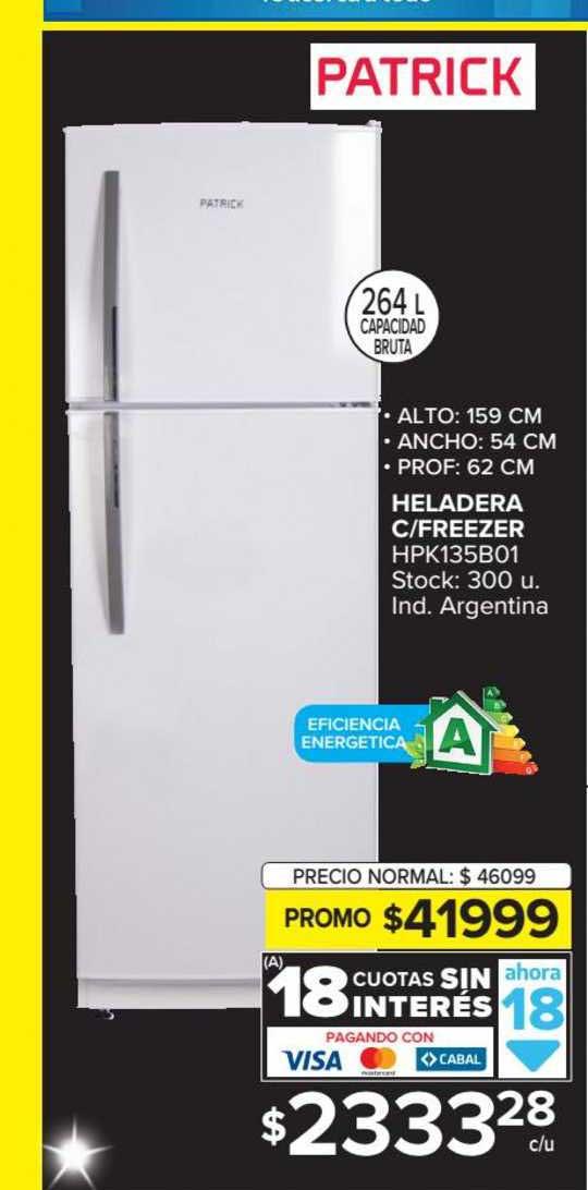 Carrefour Heladera C-Freezer HPK135B01