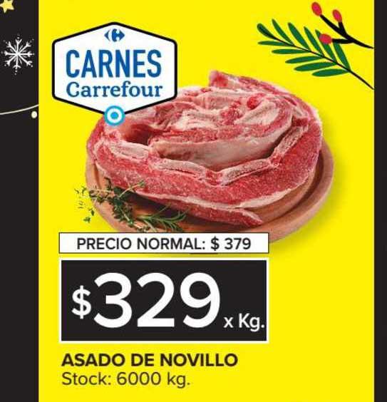 Carrefour Asado De Novillo