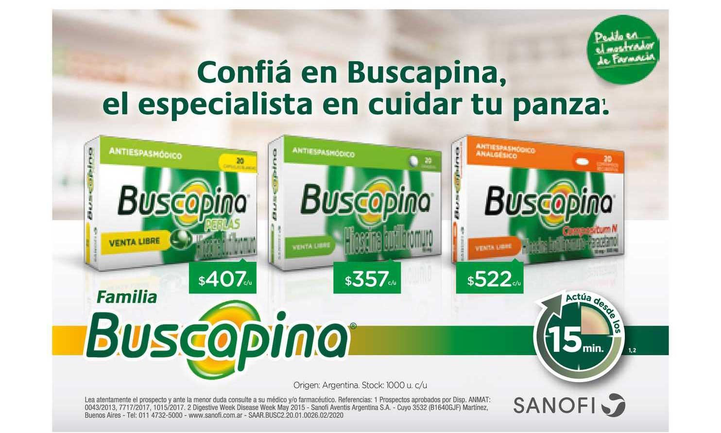 Farmacity Buscapina