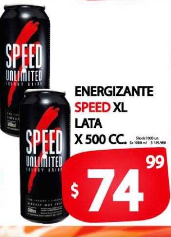 Supermercados Mariano Max Energizante Speed XL Lata X 500 CC.