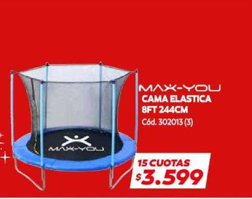 Naldo Lombardi Max You Cama Elastica 8ft 244cm