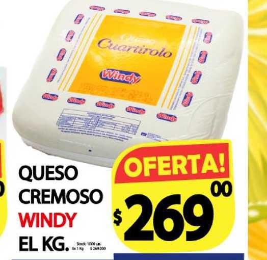 Supermercados Mariano Max Queso Cremoso Windy El KG.