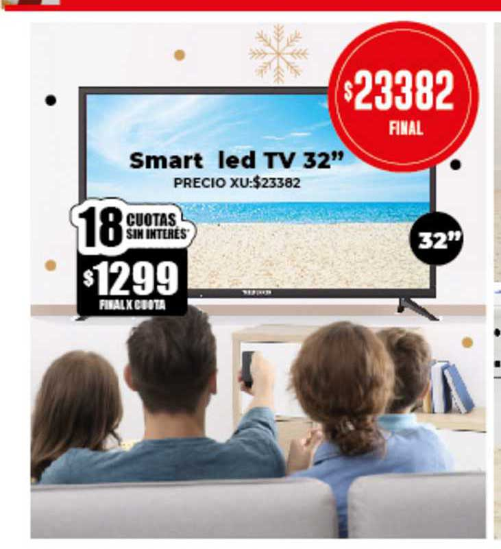 Supermayorista Vital Smart Led TV 32
