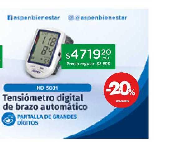 Farmacity Tensiómetro Digital De Brazo Automático