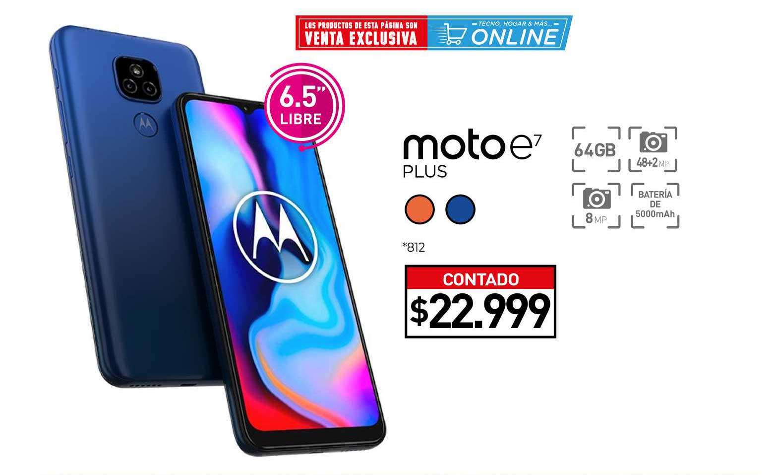 La Anónima Moto E7 Plus