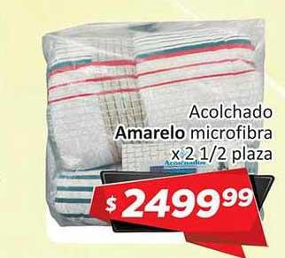 Gomez Pardo Acolchado Amarelo Microfibra
