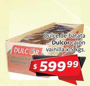Gomez Pardo Dulce De Batata Dulcor Cajón Vainilla