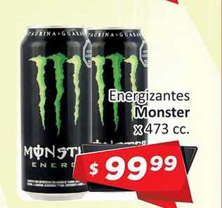 Gomez Pardo Energizantes Monster