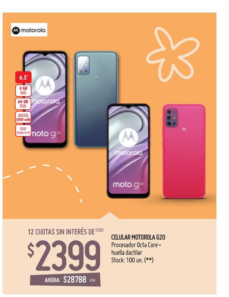 Walmart Celular Motorola G20