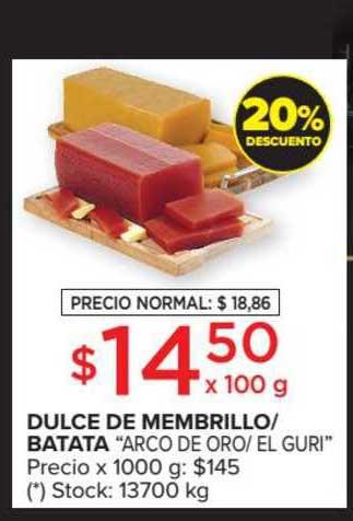 Carrefour Market Dulce De Membrillo- Batata