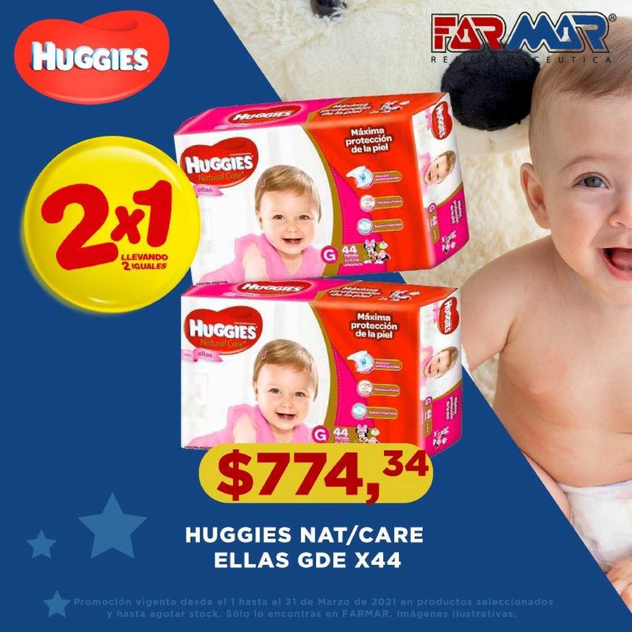 Farmar Huggies Nat-care Ellas GDE X44
